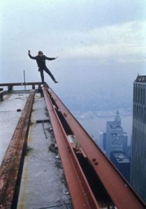 precarious step