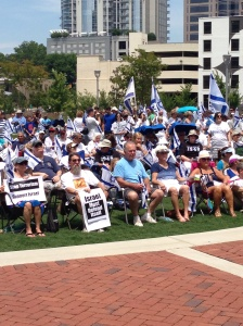 Rally for Israel