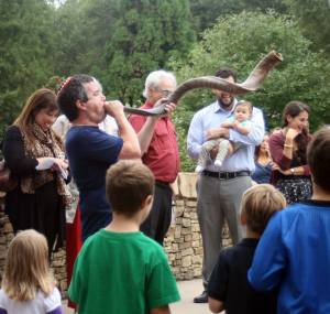 Tashlich 5775-2014 Shofar Laughter